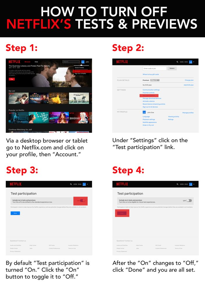 netflix guide to turning off ads promos - how to turn stop ads