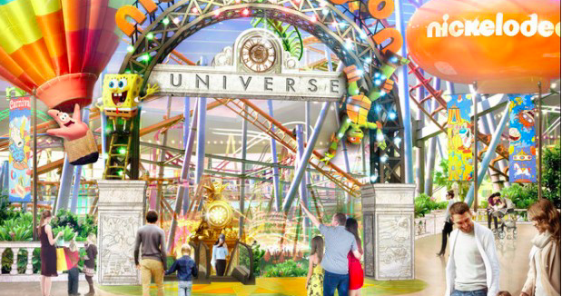 Gigantic Nickelodeon Theme Park Coming To New Jersey S