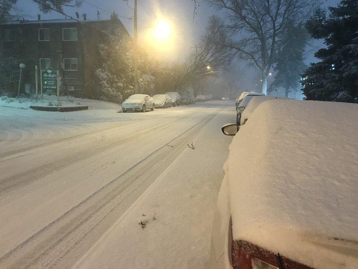 东北费城2020年的雪(photo:PhillyVoice)
