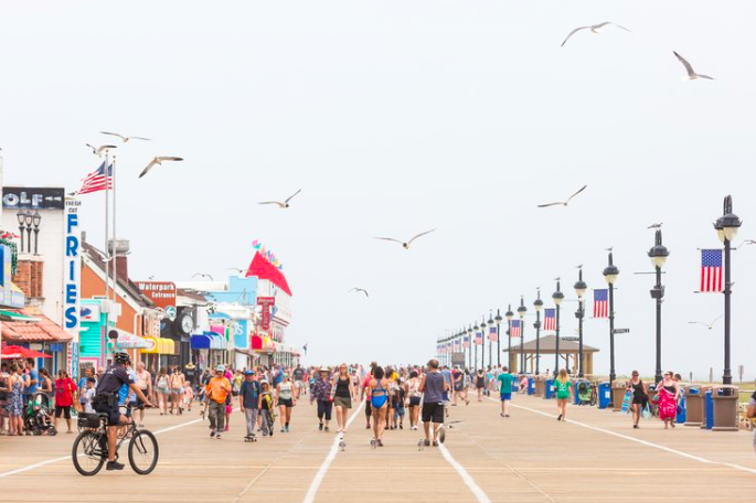 Ocean City Seagulls Boardwalk