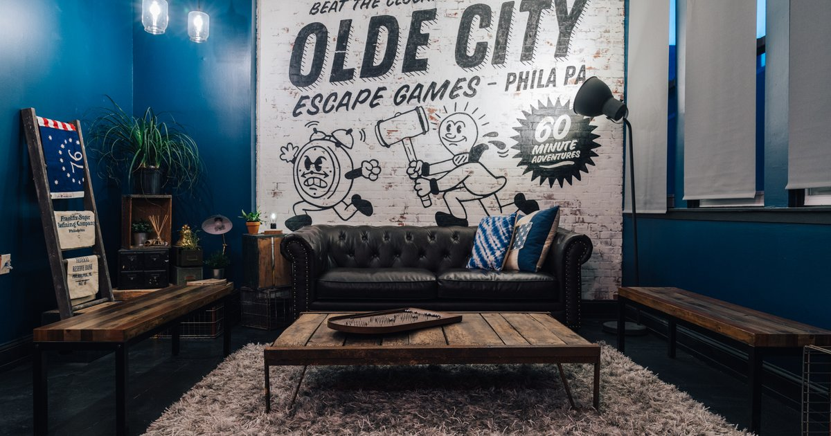 Olde city escape games brings art and history to the for Escape room concept