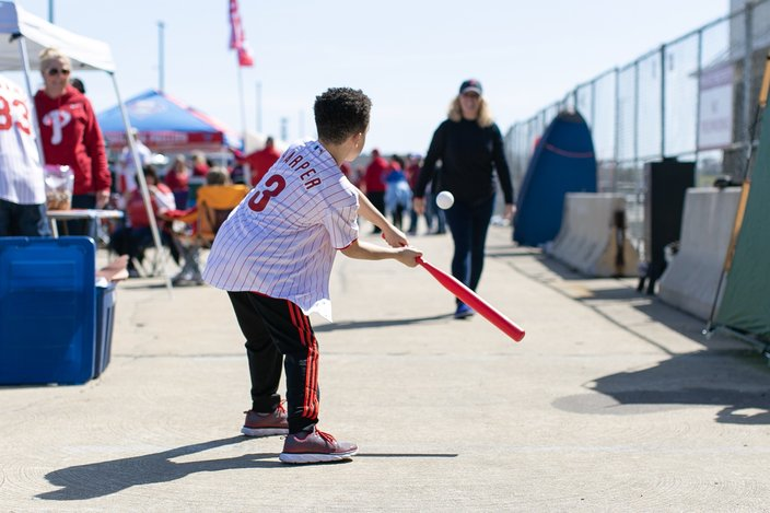 Opening Day at Phillies