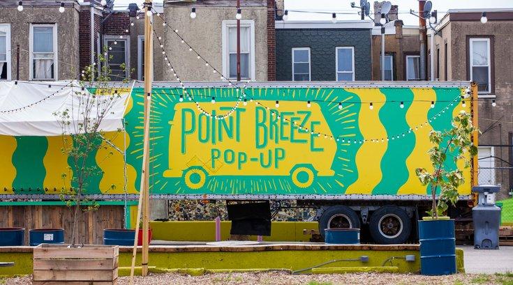 Point Breeze Pop-Up Sign