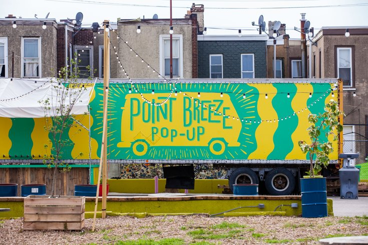 Point Breeze Pop-Up Sign