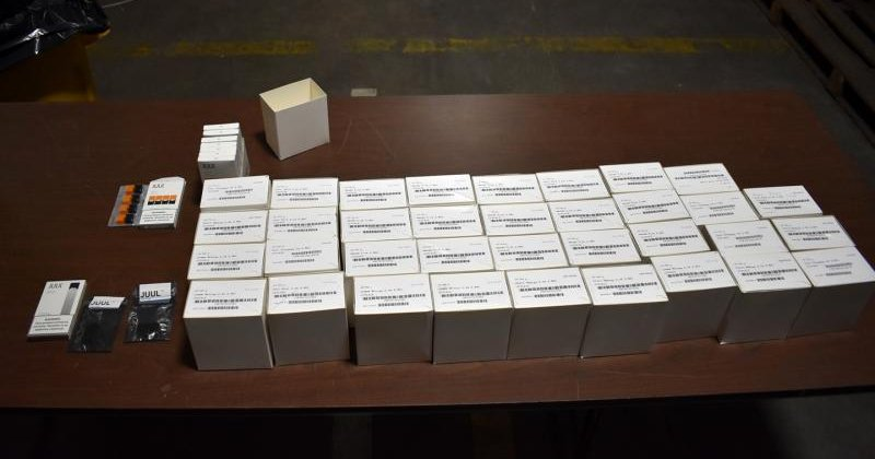 U S  Customs officers seize more than 1,000 fake Juul pods in Philly