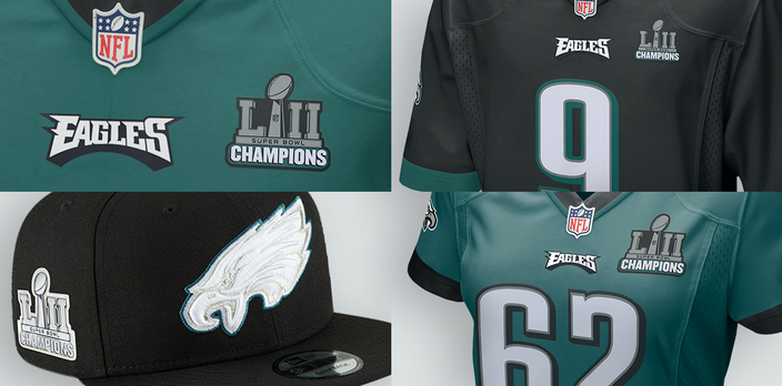 Fanatics Patch Collection Eagles