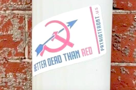Patriot Front Propaganda Pittsburg