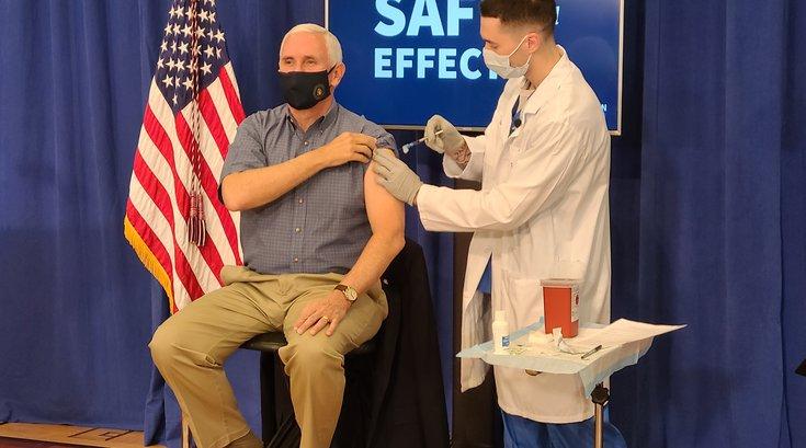 Pence COVID vaccine