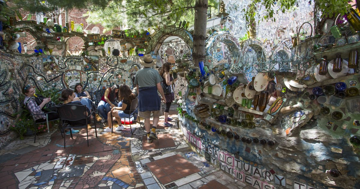 Spend Happy Hour At Philadelphia S Magic Gardens During Garden