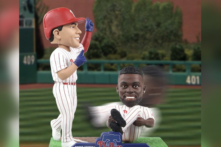 Phillies bobblehead Scott Kingery Andrew McCutchen