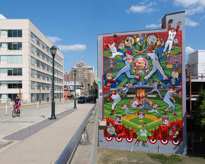 Phillies Mural