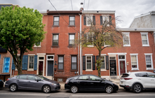 Limited - Philly neighborhood car lined street