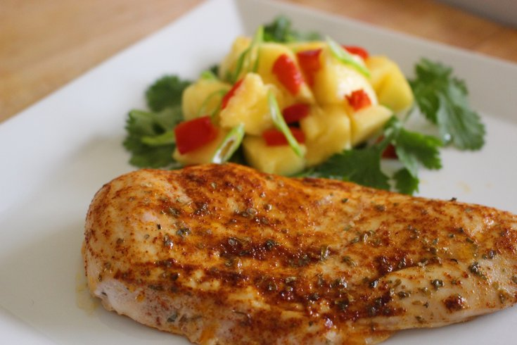 Pineapple baked chicken IBX LIVE