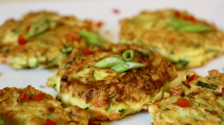 Limited - Zucchini Fritters