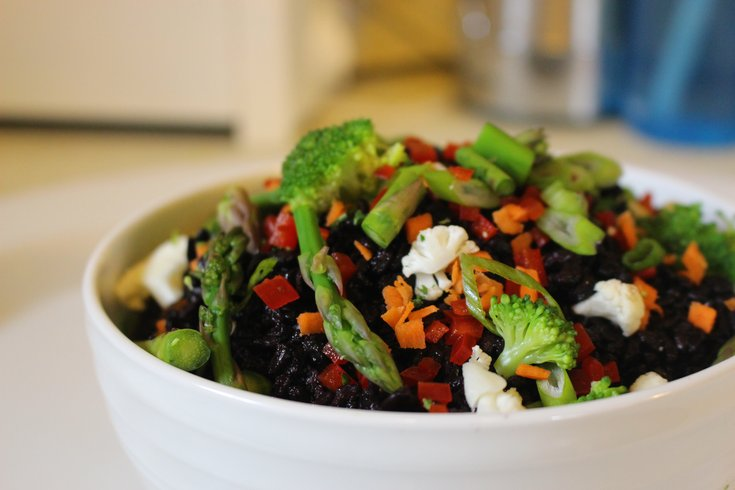 Limited - Black Rice and Veggies IBX LIVE