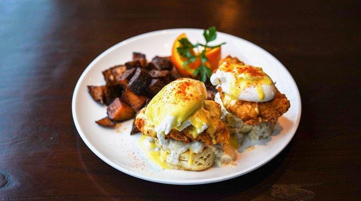 pineville fishtown brunch eggs benny