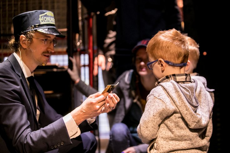 Polar Express Day at the Franklin Institute