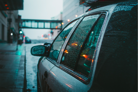 Police rain