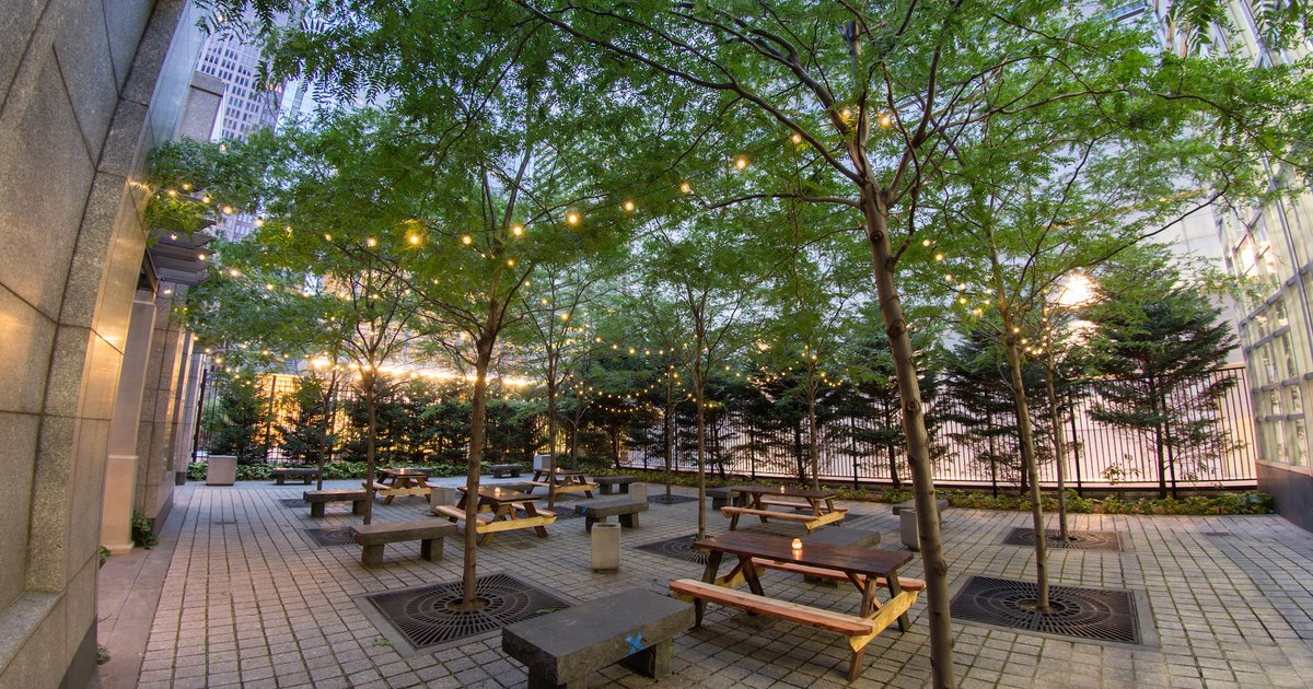 Huge beer garden popping up in Center City   PhillyVoice