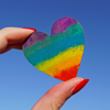 Pride Month June 2021 Holding Heart