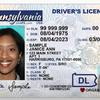 REAL ID penndot card