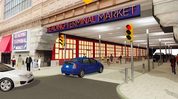 Reading Terminal Filbert Plaza