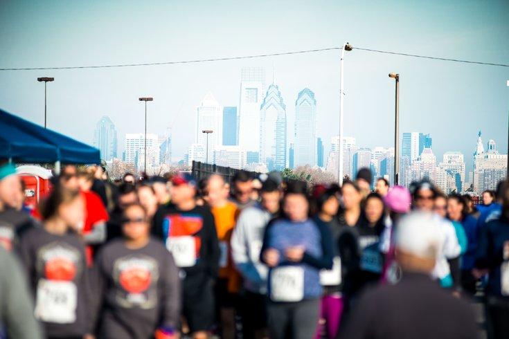 Running in Philadelphia