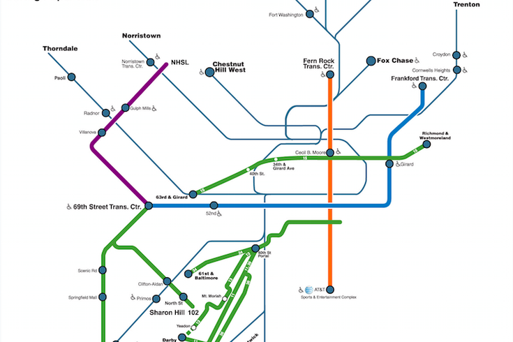 Nutter Leave Cars At Home During Papal Visit PhillyVoice - Philly septa map