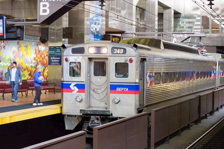 Carroll - SEPTA Regional Rail train