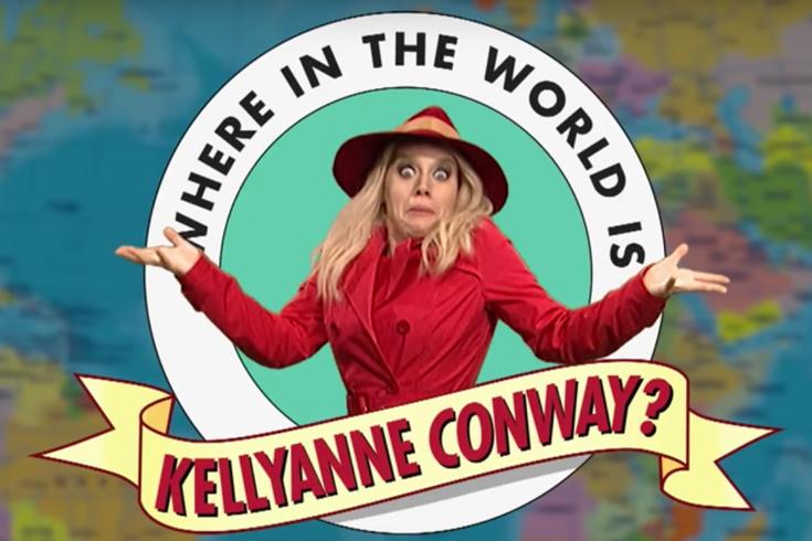 SNL Where in World is KellyAnne Conway