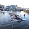 SUP Yoga at Spruce Street Harbor