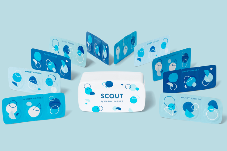 Scout new contacts brand by Warby Parker