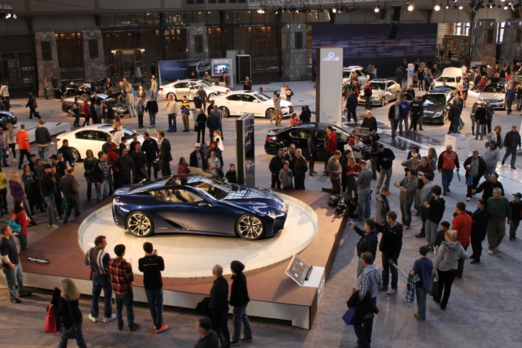 Thousands Attend Opening Of Philadelphia Auto Show Phillyvoice