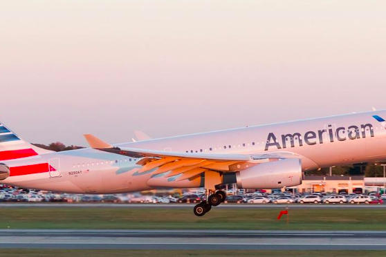 Report After In Flight Problem American Airlines Flight