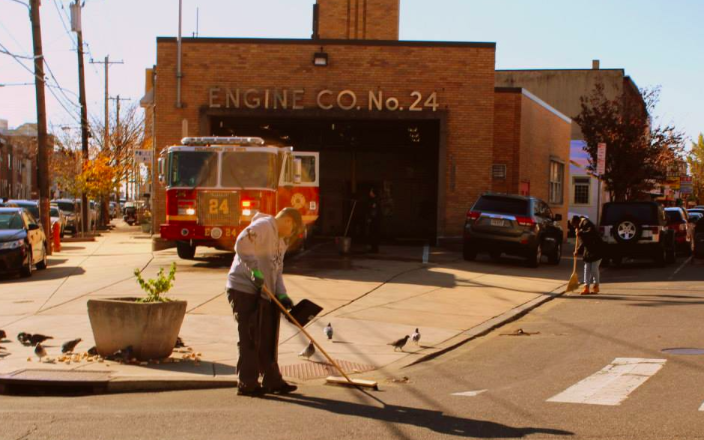 The 24th Engine Co. in Point Breeze