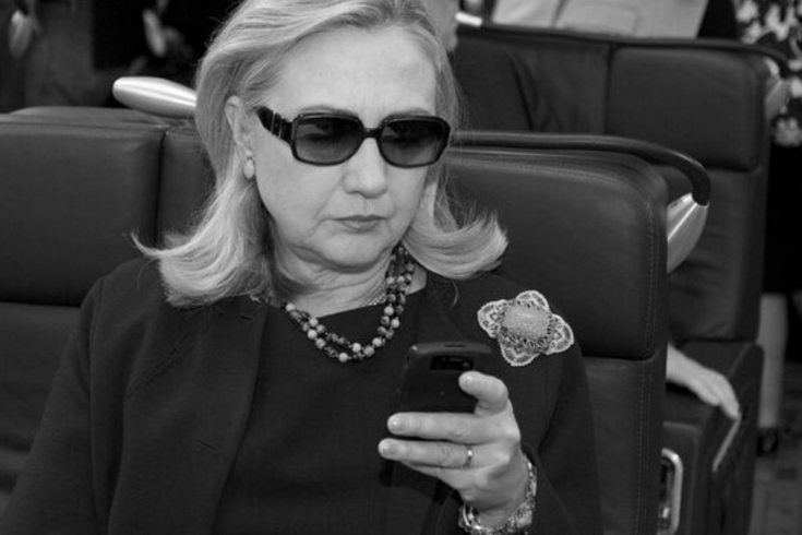 hillary clinton changes her twitter avatar phillyvoice