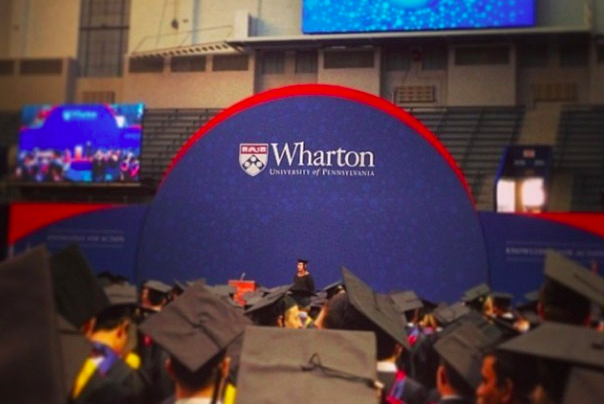 how to get a scholarship to wharton