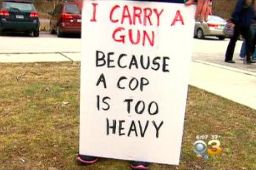 Gun rights ralley