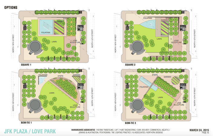 Love Park Redesign