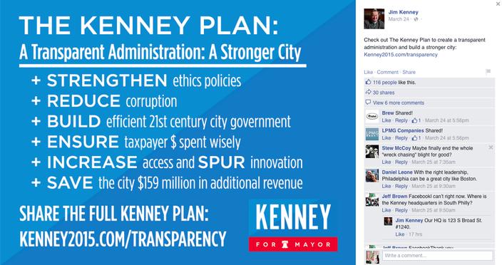 Jim Kenney Facebook