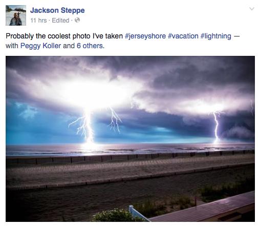 Jersey Shore Storm Photo