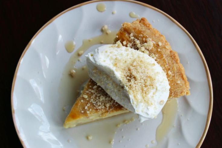 Maple Custard Pie from The Little Bird