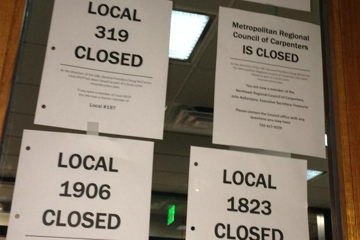 Carpenters Union notices