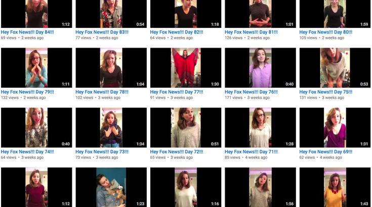 Addie Weyrich YouTube campaign