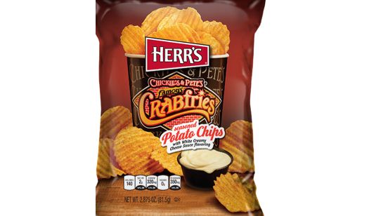Herr's Chickie's & Pete's Crabfries Chips