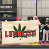 Marijuana activists protest DNC