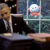 Obama Snowman Prank