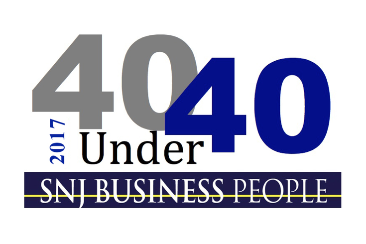 2017 40 Under 40 SNJBP logo