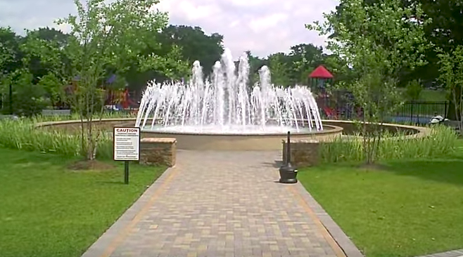 Lyndhurst park fountain