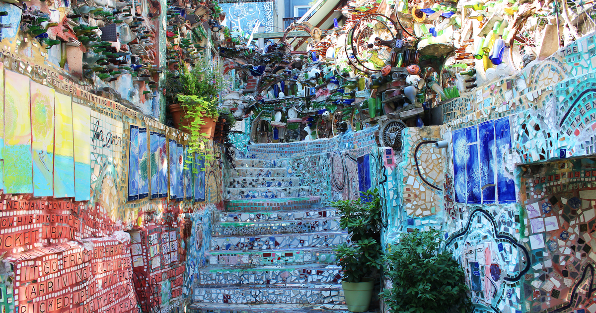 5 Reasons To Take A Look At Philadelphia S Magic Gardens Phillyvoice